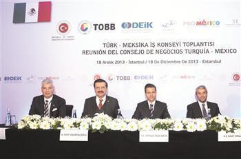 TURKEY-MEXICO SHOULD RAISE TRADE TO '$10 BILLION'