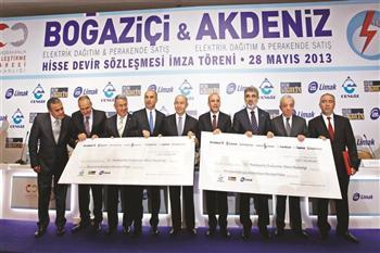Turkey has transferred the operation of two power grids