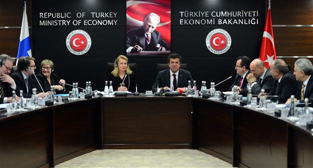 TURKEY, FINLAND SIGN JOINT ECONOMIC AND TRADE COMMITTEE AGREEMENT