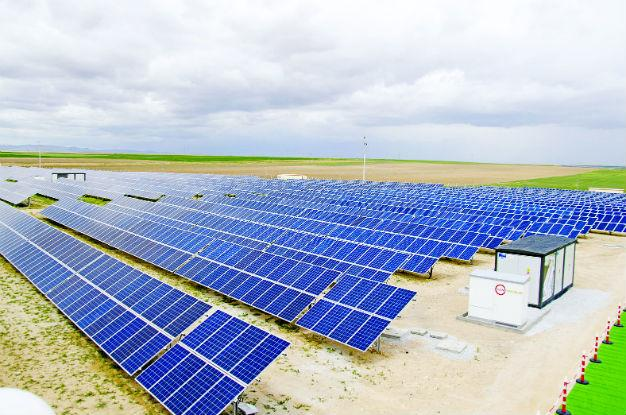 TURKEY'S 'LARGEST SOLAR POWER PLANT' IN CENTRAL ANATOLIA
