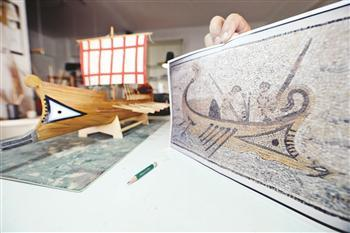 ANCIENT SHIP TO SET SAIL FROM TURKEY TO EGYPT