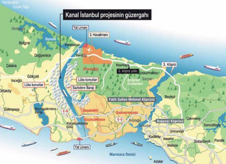 CANAL ISTANBUL TENDER OPENS BY THE MINISTRY BY THE END OF THIS YEAR.