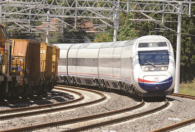 TURKEY'S ANTICIPATED HIGH-SPEED TRAIN INAUGURATED TODAY