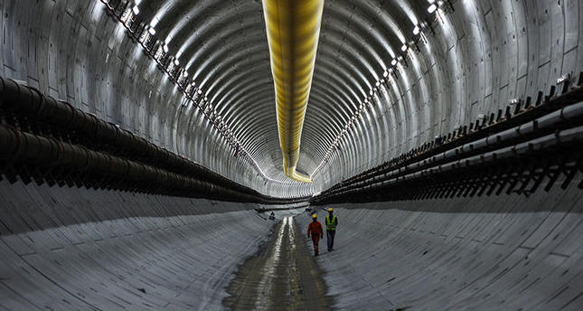 ISTANBUL'S EURASIA TUNNEL PROJECT APPROACHES LAST 75 METERS