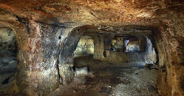 NEW UNDERGROUND MONASTERY  FOUND IN CAPPADOCIA